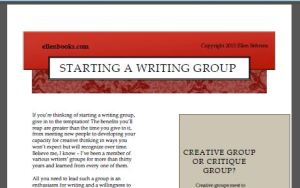 WritingGroupGuide