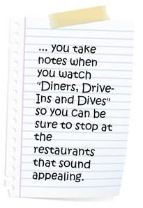 DinersDivesNotes
